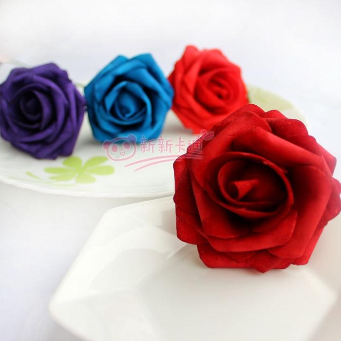 500 шт. X(6 см) один Пена розовыми цветами стволовых в 12 различных Цвета для выбора свадебные цветы.* по EMS - Цвет: Mix these 12 colors