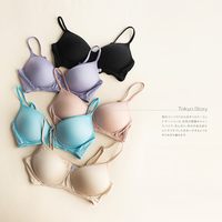 Exported To Japan Without Ring Paper Thin Silk Bra Cup Lingerie Collection Furu Gather Silk