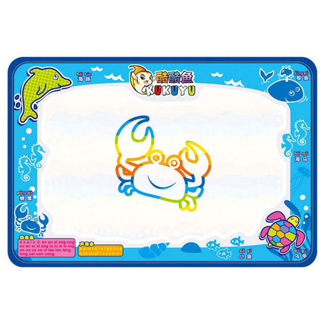 baby kids add water with magic pen doodle painting picture water play mat in drawing toys - Painting Sketches For Kids