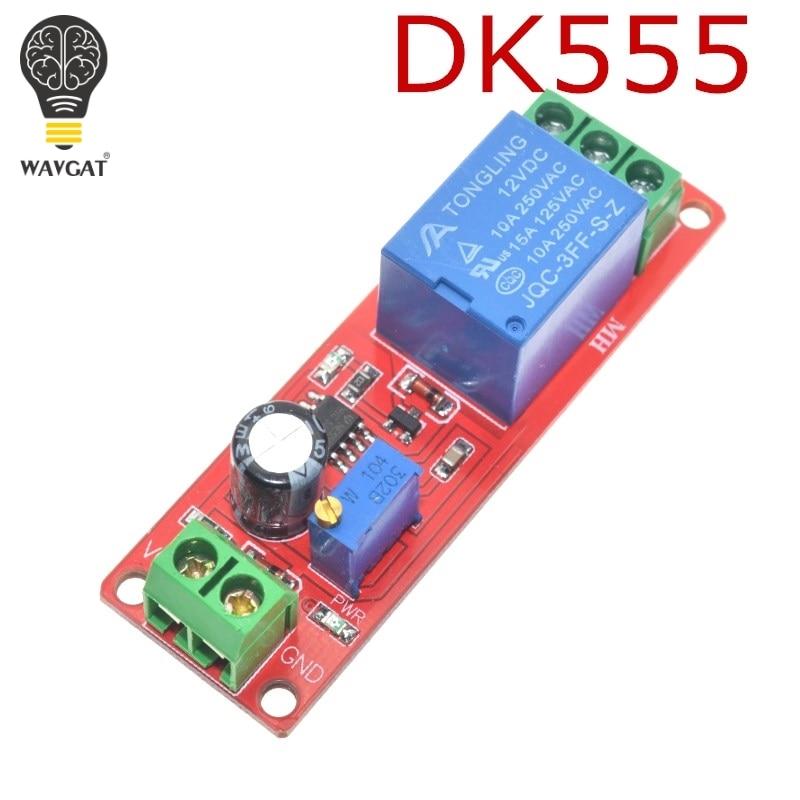 1pcs Ne555 Dk555 Timer Switch Adjustable Disconnect Module