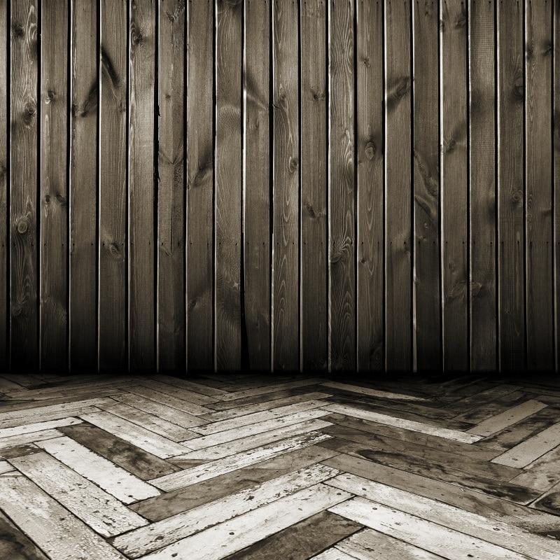Laeacco Tableros de madera viejos Chevrons Suelo Niño Fondos - Cámara y foto