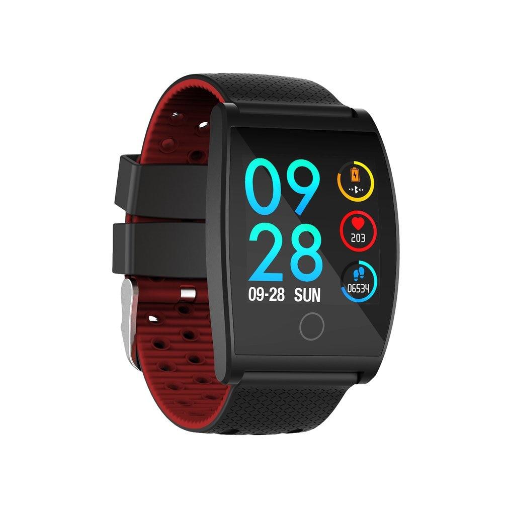 QS05 Smart Bluetooth Photo Bracelet IPS Large Color Screen Blood Pressure Blood Oxygen Heart Rate Sports Waterproof Watch