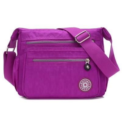 2017 New Womens Shoulder bags!Hot Casual shopping Shoulder&Crossbody bag Top retro carved shoulder All-match Nylon Carrier