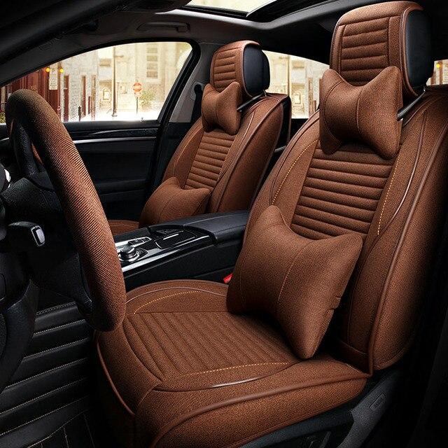 Front Rear Seats Universal Automobiles Seat Covers Car Cover For Subaru Impreza XV WRX