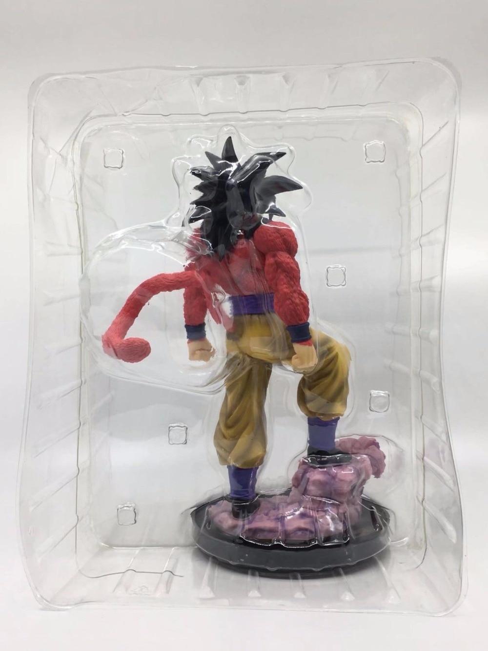 NEW hot 28cm Dragon Ball GT Super Saiyan 4 Son Goku Kakarotto Action figure collection toys doll Christmas gift no box