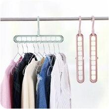 Home Storage Organization Clothes Hanger Drying Rack Plastic Scarf Clothes Hangers Storage Racks Wardrobe Storage Hanger