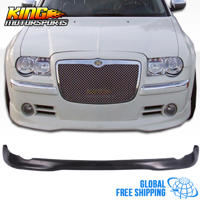 For 05 10 Chrysler 300 300C ED VIP Style Front Bumper Lip