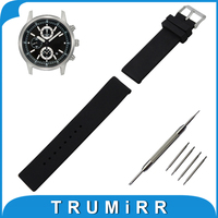 18mm 19mm 20mm 21mm 22mm Silicone Rubber Watch Band for Seiko Resin Strap Stainless Steel Buckle Wrist Belt Bracelet