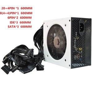 Image 4 - 700W Nguồn PC 700W ATX Điện Máy Tính Để Bàn Chơi Game PSU Active PFC Quạt 120 Mm 90 264V 92% Hiệu Quả EU Anh Mỹ