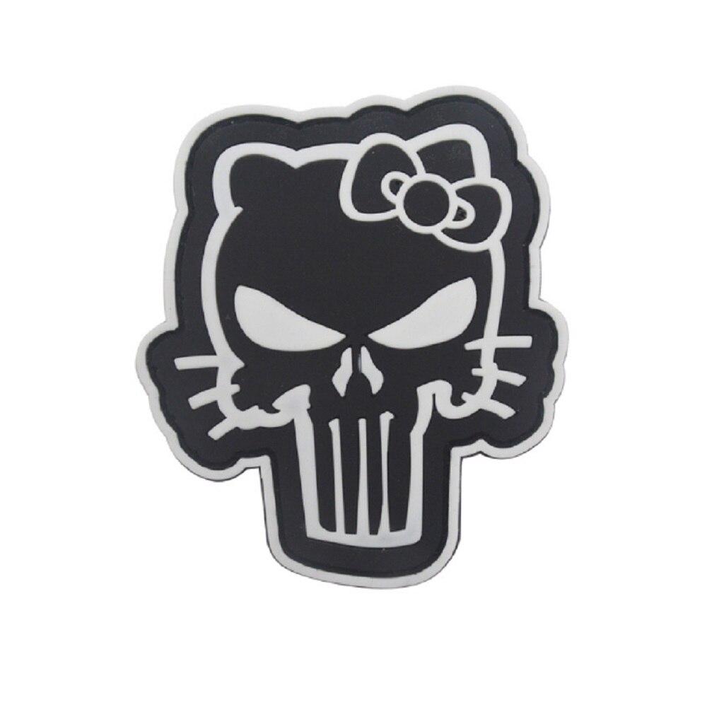 Tribal Hello Kitty: Hello Kitty Punisher Stencil