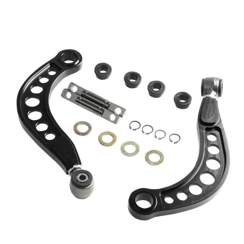 1 paire de Réglable Arrière Supérieure Bras Camber Kit pour Honda Civic JDM DX/LX/EX/ tous Les SI 06-11 T6061 De Commande En Aluminium Bras Partie