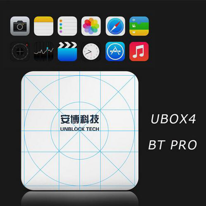 10PCS/Lot IPTV UNBLOCK UBOX 4 Gen.4 S900Pro Bluetooth Android Smart TV Box 4K 16GB Media Player WiFi HK Korean Malaysia Channels iptv unblock ubox 3 standard 8gb smart android tv box