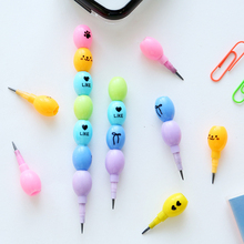 2 Pcs/lot Aihao Cute Kawaii Pencil Kids Korean School Supplies Office Accessories Stationery