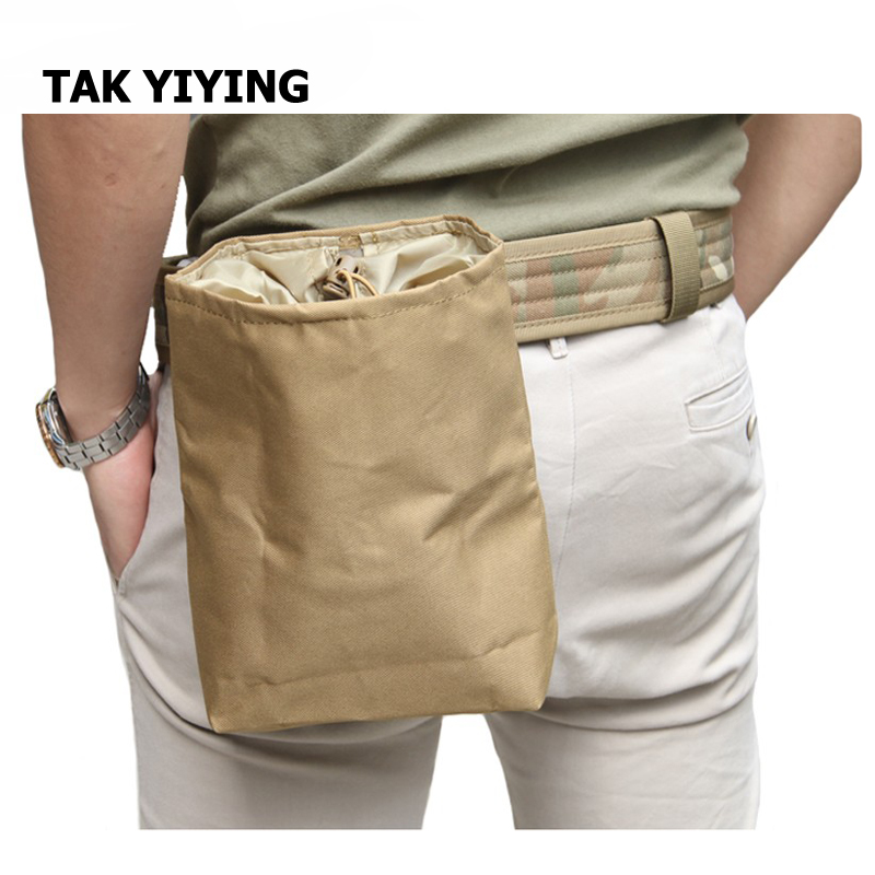 TAK YIYING Airsoft Foldable Mag Molle Tactical Mag Tool DUMP Drop Pouch Bag Recovery Pouch|pouch bag|pouch pouch|pouch mag - title=