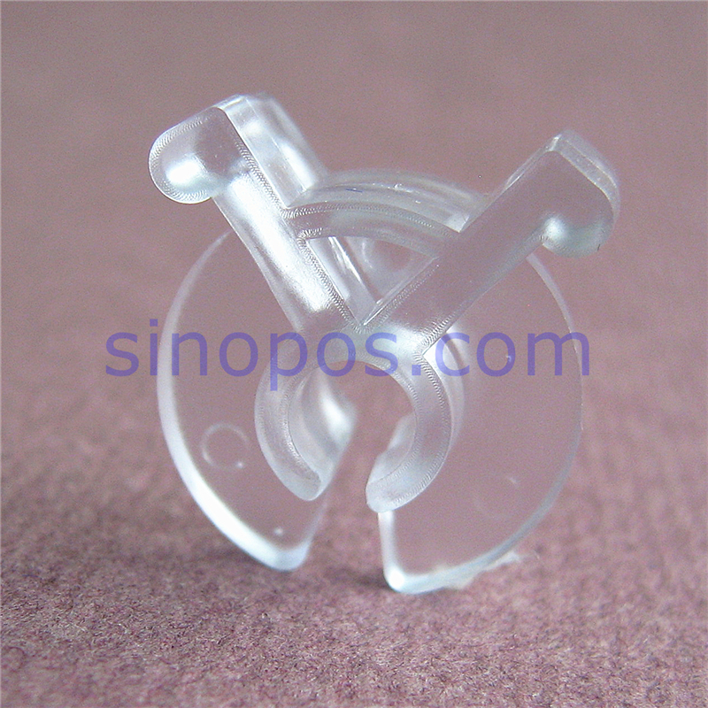 plastic squeeze clips