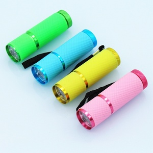 Image 3 - Mini lampe UV Led UV lampe à LED sèche ongles pour ongles en Gel 9 lampe de poche LED portabilité