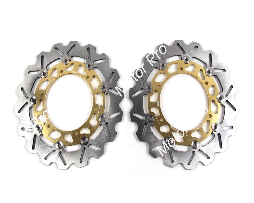 2 PCS CNC Motorcycle Front Brake Disc FOR YAMAHA XJ 600N YZF 600R THUNDERCAT 1996 1997 1998 1999 2000 2001 2002 brake disk Rotor rear brake disc rotor for xj 600 s seca ii yx 600 radian yzf 600 r thundercat 1998 1999 2000 fzr 600