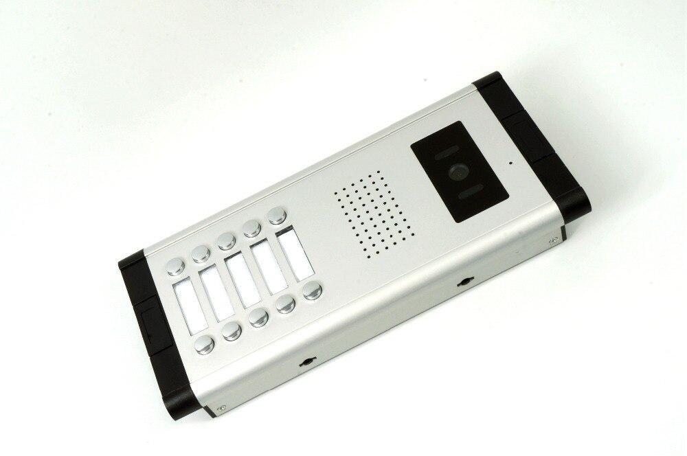 Yobangsecurity Видеодомофоны Мониторы 10-дюймовый видео Дверные звонки Камера Системы домофон доступа Системы для 10 единиц квартиры