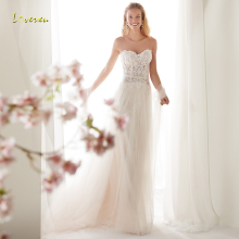 Loverxu Sheath Wedding Dress Sleeveless Bride Dress