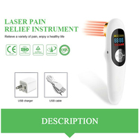 Relief from Back and Neck Pain LLLT Cold Laser Therapeutic Device