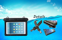 6 Waterproof Dry Bag Water Resistance Pouch Case Cover Protector Skin For Kindle Paperwhite Ebook Samsung