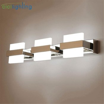1/2/3/4 lights Bathroom Mirror Lamp Waterproof Cabinet Vanity Mirror Lights Led Wall Light Lamp Modern led Bathroom Light l40cm l60cm l70cm l90cm l110cm led wall lamp bathroom mirror light waterproof modern acrylic wall lamp bathroom lights ac85 265v