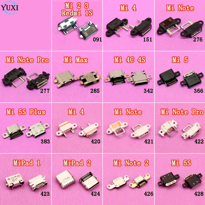 Yuxi Jack-Connector Charging-Port Xiaomi Usb-Socket Micro-Usb Max-Note 1piece for Mi-2-3-4-4c/4s/5/..