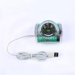 10 шт./лот Новый IWS5A высококачественный многоцелевой налобный фонарь высокое Яркость для добычи Охота Кемпинг лампы USB Зарядное устройство 6....