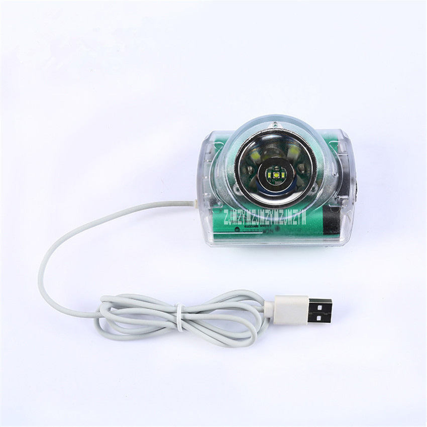 10Pcs/lot New IWS5A High-quality Multi-purpose HeadLamp High Brightness For Mining Hunting Camping Lamp USB Charger 6.2Ah 3.7V