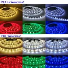 где купить 5M/lot DC12V 5050 SMD 60LEDs/m White/Warm White/Red/Green/Yellow/Blue/Pink/RGB/UV/RGBW/RGBWW Flexible Led Strip Light tape по лучшей цене