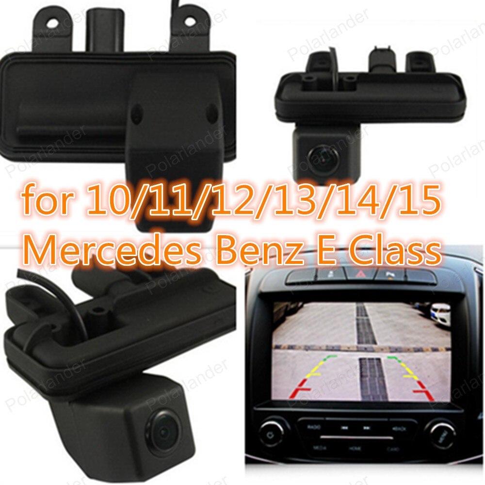 Polarlander Rear Handle for 10/11/12/13/14/15 Mer ced es Be nz E Class Rear View Camera 170 Degree Night Version
