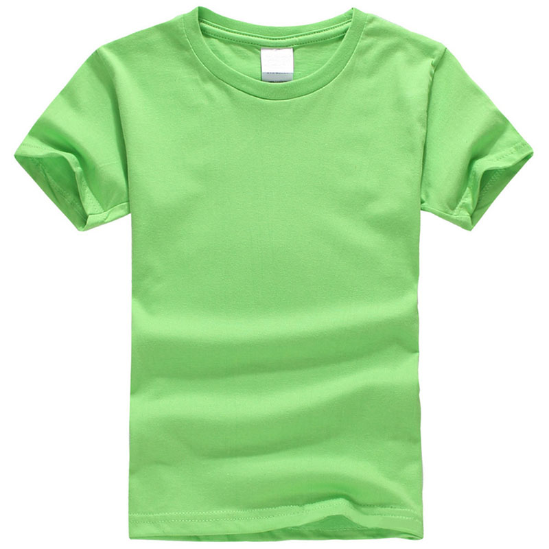 Summer Children short sleeve T-shirt boy T-shirt 100% cotton 13 colors Casual wild solid color boys and girls Clothes women s stunning solid color t shirt and pleated spaghetti straps dress set