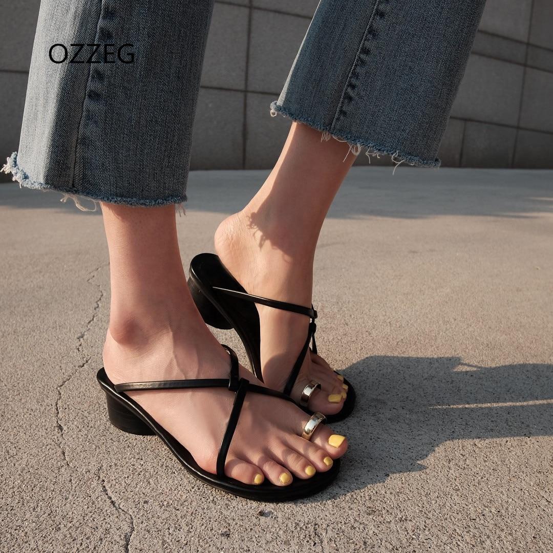 Sandale za ženske Poletne obutev za na plažo Natikači na plaži - Ženski čevlji