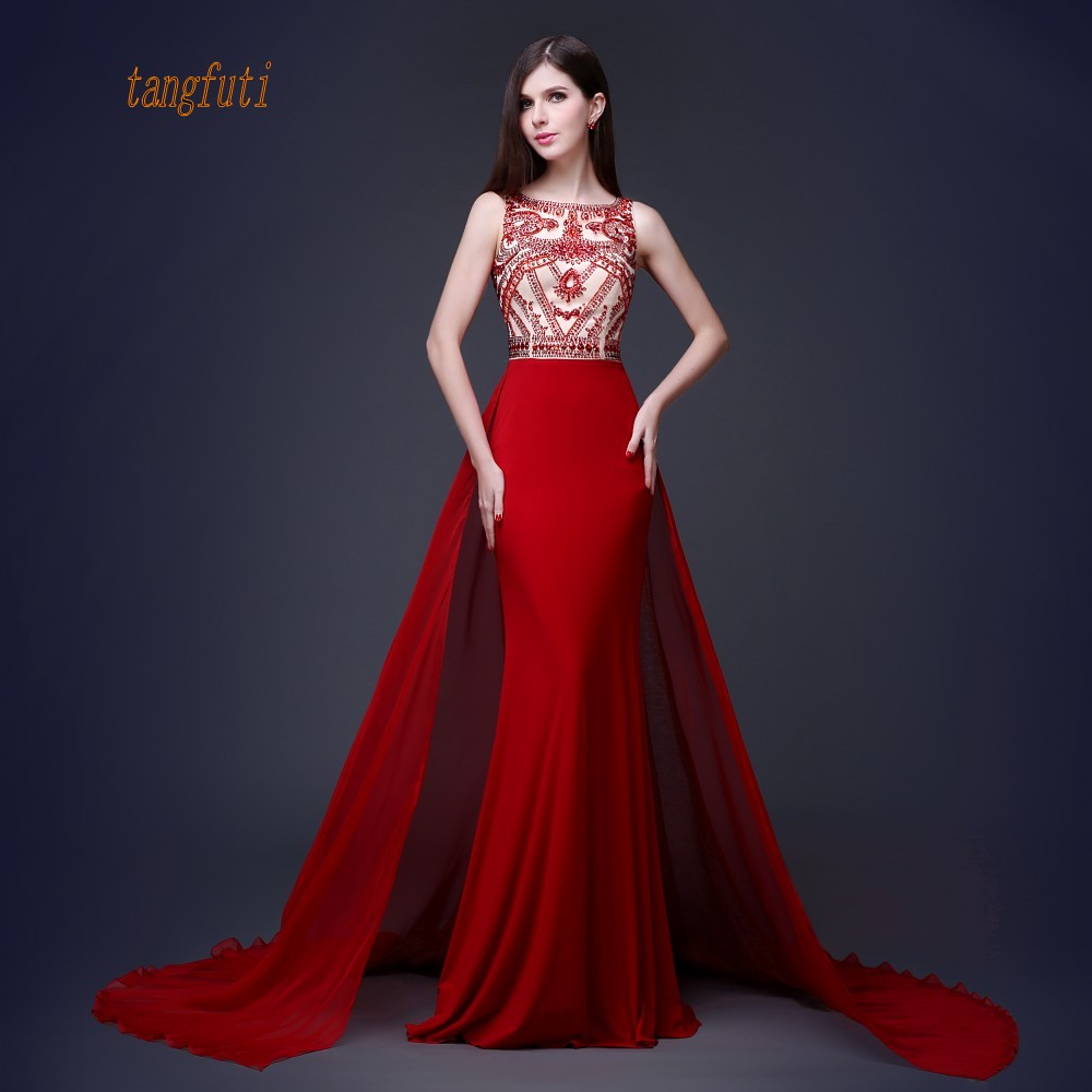 Mermaid Beautiful   Evening     Dresses   Long Party Women Prom Gowns Formal   Dress     Evening   Party Waer On Sale abendkleider