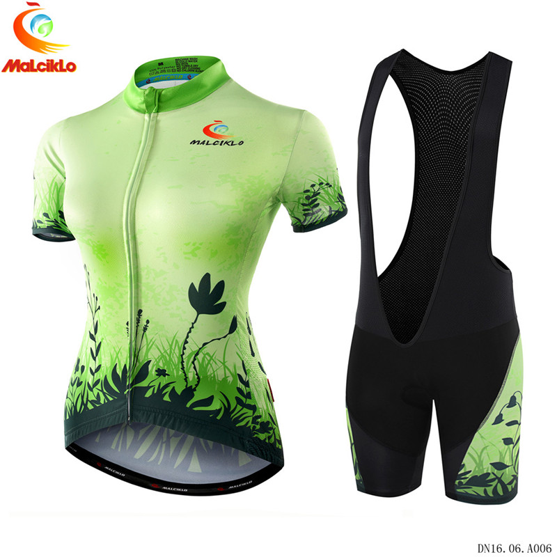 Newest Women Cycling Jersey Short Jersey Ropa De Ciclismo Maillot Breathable gilr Cycling Clothes Set Gel Pad Bike Wear