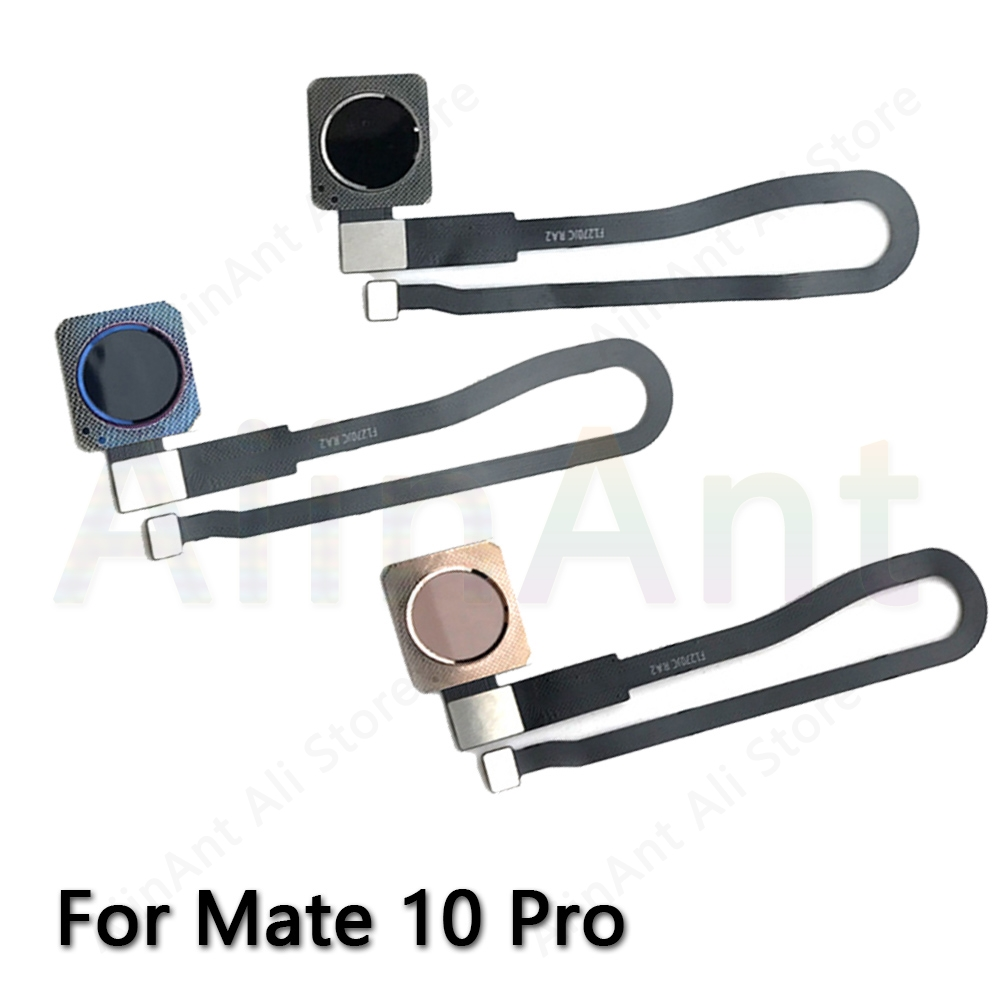 Home Return Button Key Touch ID Fingerprint Sensor Ribbon Flex Cable For Huawei Mate 10 Pro Fingerprint Sensor Flex