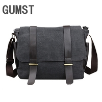 GUMST Fashion Men Folding PU Leather Clutch Bag Leisure Portable Handbag for Men Business Documents Masculina Wrist Bags