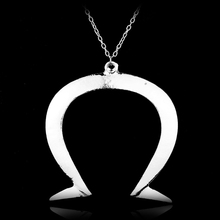 Buy omega necklaces and get free shipping on aliexpress 10pcslot letter omega pendant greek symbol jewelry capital letter necklace keychain uppercase logo emblem mozeypictures Choice Image
