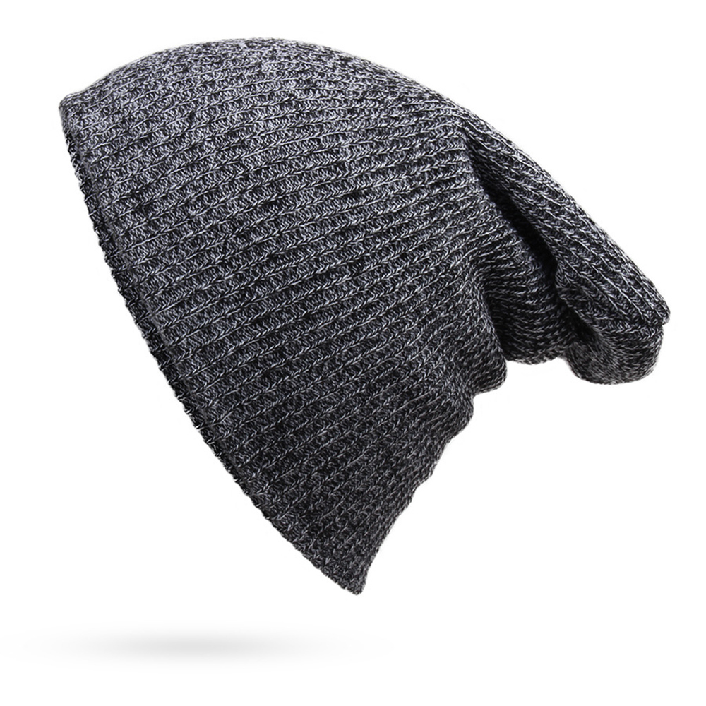 7 color autumn Men Women Knitted Winter Cap Casual Beanies for Men Solid Hip-hop Slouch Skullies oversize Bonnet Unisex Cap Hat