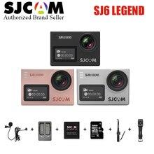 In Stock! SJCAM SJ6 Legend 2′ Touch Screen Remote Action camera 4K 24FPS NTK96660 Helmet Sports DVR Camera Waterproof 30M sj cam