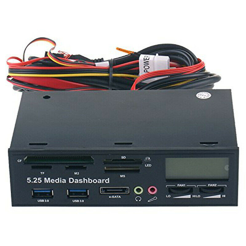 Image 5 - PYMH 5,25 дюймов USB 3,0 PC Передняя панель медиа панель концентратор картридер SATA PCIE PCE E-in USB-гаджеты from Компьютер и офис