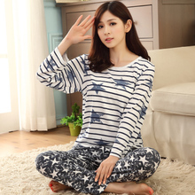 Women Sleep Lounge Free Shipping Cotton Pajamas Fashion Soft