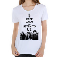 2018 World Tour camiseta de calidad superior camiseta mujer Rock Band camiseta  U2 el Joshua Tree bb2bdf052a25f