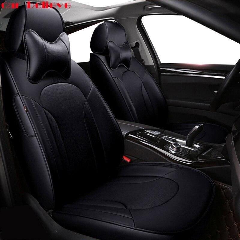 Автомобиль считаем Авто автомобилей из воловьей кожи кожаный чехол автокресла для Audi A6L Q3 Q5 Q7 S4 A5 A1 A2 A3 a4 B6 B8 B7 A6 автомобильные аксессуары