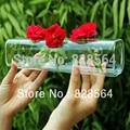 gigi presente hidropônico vaso de vidro flor arranjar dispositivo decoração floral mesa de decoração de casamento decorações