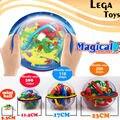 3D Magic Puzzle Jogo perplexus mágico intelecto Mármore Enigma Bola Labirinto 299 nível Equilíbrio IQ brinquedos Educativos para Crianças, 4 estilos