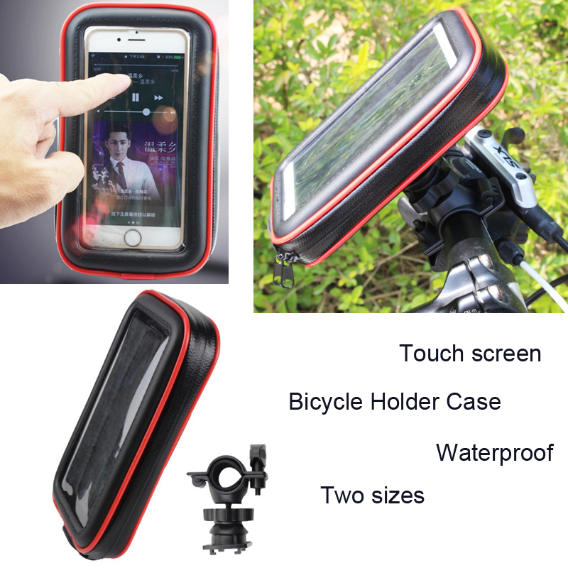 Touch Screen Bicycle Motocycle Bike Mobile Phone Holders Case Bags For Motorola Moto X4/Z2 Force/G5S/G5S PLUS/Z2 Play/E4 PLUS