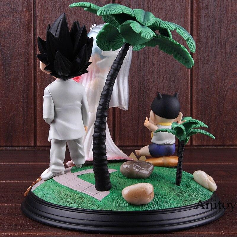 Игрушка из аниме Dragon Ball Vegeta & Bulma свадебный день ПВХ Статуя Фигурка Коллекционные Фигурки игрушки Dragon Ball Набор - 5