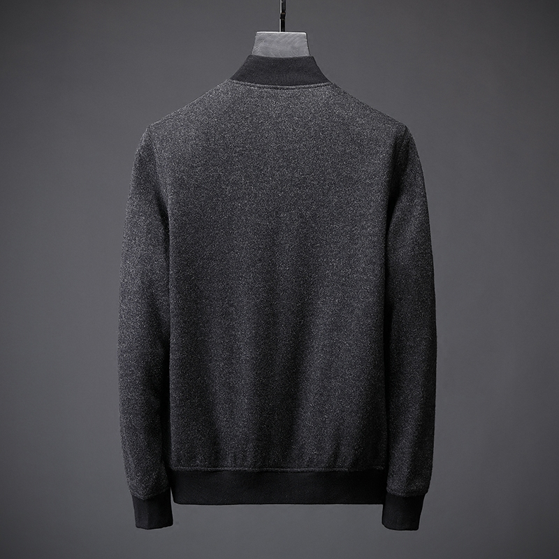 Blend Hombres black Invierno De Abrigo Gray Zz049 Engrosamiento Chaquetas Outwear Parkas Chaqueta 2018 Marca Hombre Lana Capa Béisbol S6RFnxqqw