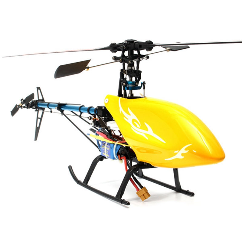 ФОТО New Arrival XFX Trex 450 V2 6CH RC Helicopter Super Combo